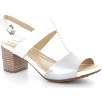 Chaussures Femme Sandales et Nu-pieds Geox D6273B43KY  Femme White/Silver White/Silver