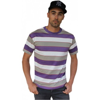Vêtements T-shirts manches courtes Qwst Tee shirt  Lampiao Purple Multicolore