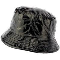 Chapeaux Nyls Création Chapeau de Pluie Noir Maud doublé Polaire