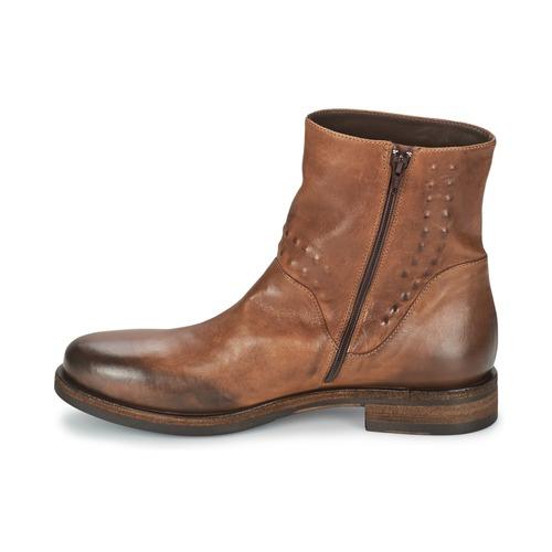 Boots Vic Chaussures Copenhagen Femme Marron XuTOPkiZ
