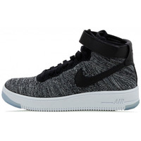 Chaussures Femme Baskets montantes Nike Air Force 1 Ultra Flyknit - Ref. 818018-001 Noir