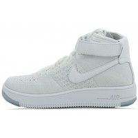 Chaussures Femme Baskets montantes Nike Air Force 1 Ultra Flyknit - Ref. 818018-100 Blanc