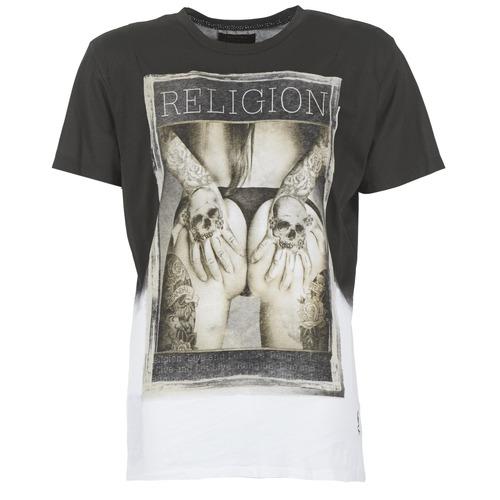 T-shirts & Polos Religion GRABBING Blanc / Noir 350x350