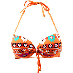 Vêtements Femme Maillots de bain séparables Emmatika Maillot de bain  Push Up Apache Hopo Orange ORANGE