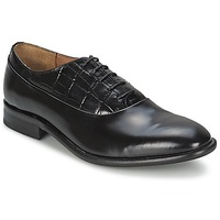 Chaussures Homme Richelieu House of Hounds MILLER OXFORD BLACK