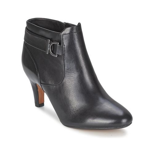 Chaussures Femme Low boots Clarks LILY BELLE Noir