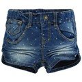 Name It Kids SHORT  ANJA Mini Denim Slim Medium Blue Denim