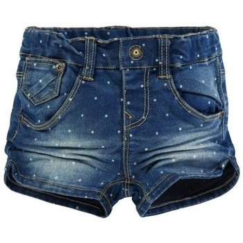 Vêtements Fille Shorts / Bermudas Name It Kids SHORT  ANJA Mini Denim Slim Medium Blue Denim Noir