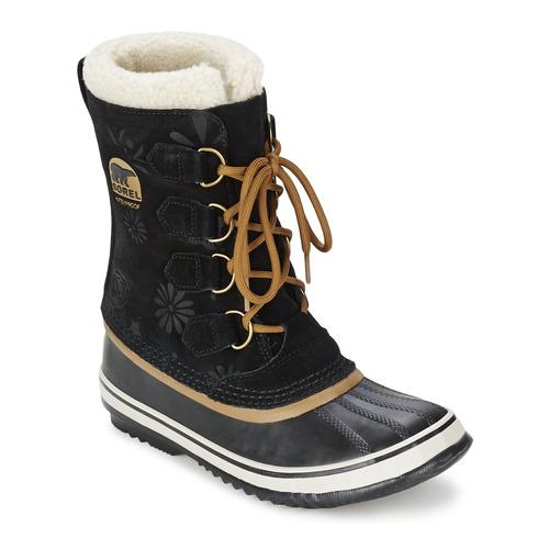 Chaussures Femme Bottes de neige Sorel 1964 PAC GRAPHIC 13 Noir