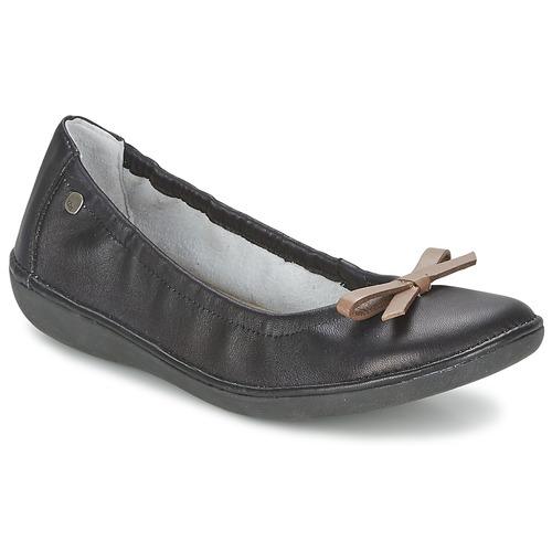 Chaussures Femme Ballerines / babies TBS MACASH Noir / Taupe