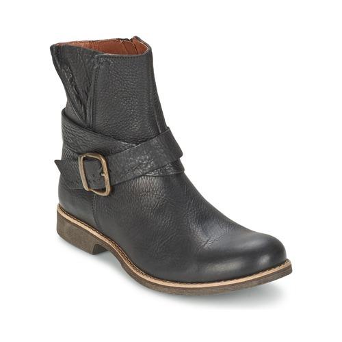Chaussures Femme Boots TBS MARLIE Noir / Caramel