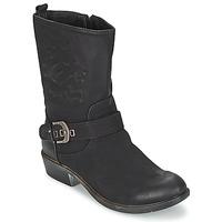Chaussures Femme Boots Spot on GANIA Noir