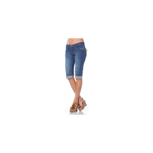 Vêtements Femme Shorts / Bermudas Ritchie BERMUDA FANTASY WN Bleu denim