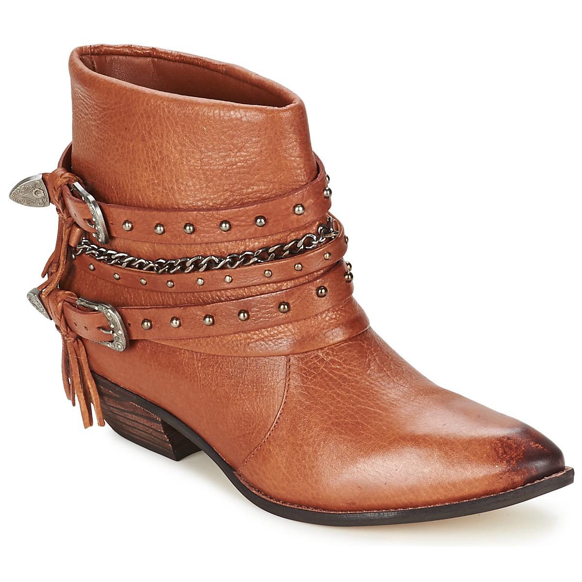 Dumond ZIELLE Marron - Livraison Gratuite avec  - Chaussures Boot Femme
