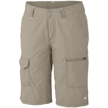 Vêtements Femme Shorts / Bermudas Columbia Silver Ridge Cargo Short Fossil