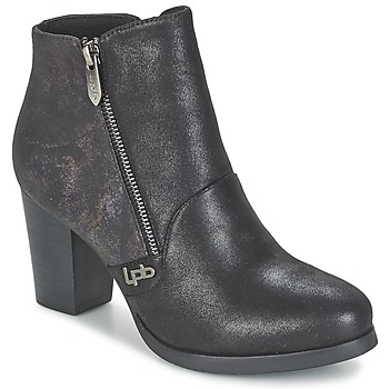 Chaussures Femme Bottines LPB Shoes BALTIMORE Noir