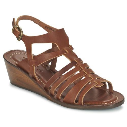 Chaussures Femme Sandales et Nu-pieds Kickers FASTA Marron
