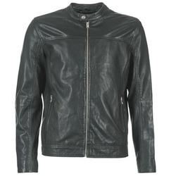 Vêtements Homme Vestes en cuir / synthétiques Selected BIRMINGHAM Noir