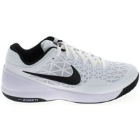 Chaussures Homme Baskets basses Nike Zoom Cage 2 Blanc Noir 844960-100 Blanc