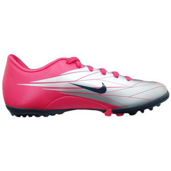 Football Nike Mercurial Victory Tf Chaussures de Football Enfant Cuir Fuchsia