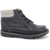 Chaussures Garçon Boots Boni Classic Shoes Boni Luc - Bottines garçon cuir lacet Bleu Marine