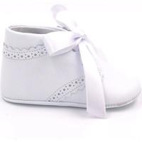Chaussures Garçon Chaussons bébés Boni Classic Shoes Chausson en cuir cérémonie - EDOUARD Blanche
