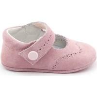 Chaussures Fille Chaussons bébés Boni & Sidonie Chaussons en daim souple - MINNIE Rose