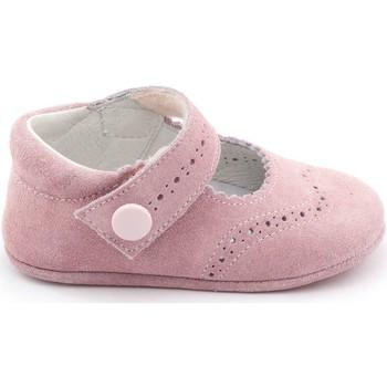 Chaussures Fille Chaussons bébés Boni Classic Shoes Boni Minnie - Chaussons bébé daim souple Rose