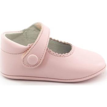Chaussures Fille Chaussons bébés Boni Classic Shoes Boni Thérèse - Chaussons bébé cuir souple Rose