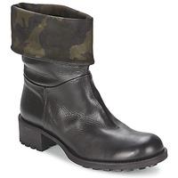 Chaussures Femme Boots JFK TARZAN Noir