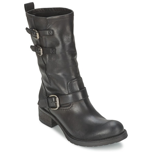 Chaussures Femme Boots JFK GUANTP Noir