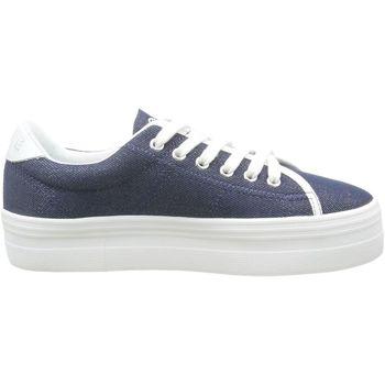 Chaussures Femme Baskets basses No Name plato sneaker bleu