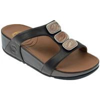 Sandales et Nu-pieds FitFlop Pietra due slide ciabatta fascia Sandales