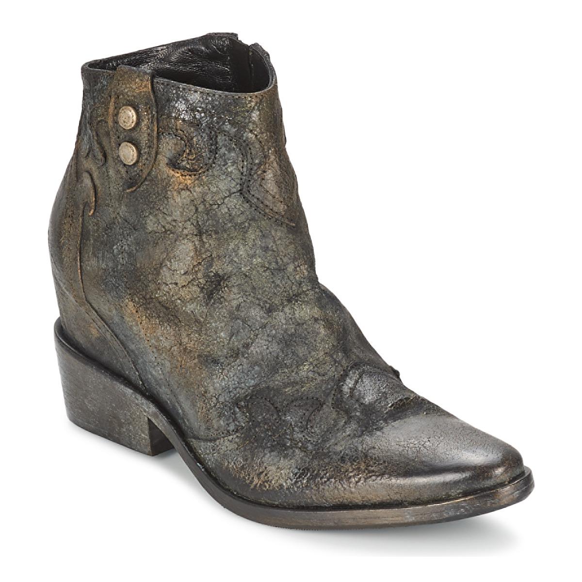 Strategia XIOT Gris - Livraison Gratuite avec  - Chaussures Bottine Femme