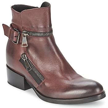 Chaussures Femme Bottines Strategia ZOOLI Bordeaux