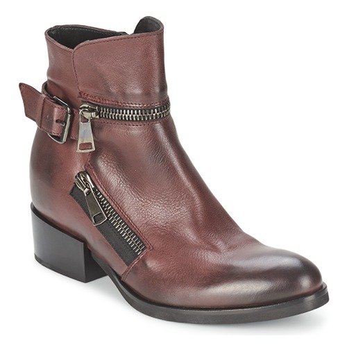 Bottines / Boots Strategia ZOOLI Bordeaux 350x350