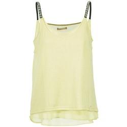 Vêtements Femme Débardeurs / T-shirts sans manche Les P'tites Bombes BRICCOM Jaune