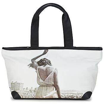 Sacs Femme Cabas / Sacs shopping Kothai MICRO GIRL Noir / Gris