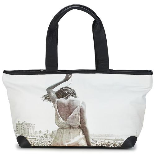 Cabas / Sacs shopping Kothai MICRO GIRL Noir / Gris 350x350