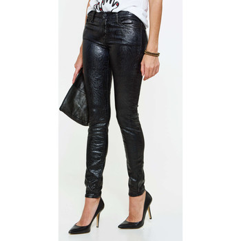 Vêtements Femme Jeans slim 7 for all Mankind Jeans  The Skinny Skinny Noir Femme Noir