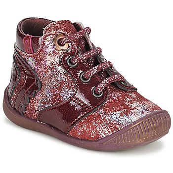 Chaussures Fille Boots Little Mary REINE Bordeaux