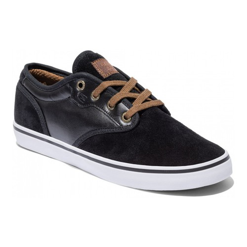 Chaussures Homme Chaussures de Skate Globe Motley Black Toffee Noir