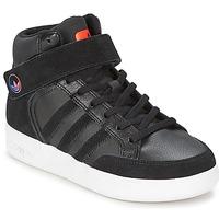 Chaussures Enfant Baskets montantes adidas Originals VARIAL MID J Noir / Rouge / Bleu