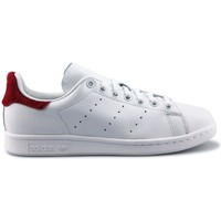 Chaussures Femme Baskets basses adidas Originals Stan Smith W Blanc Rouge Blanc/Rouge