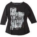 Key Up S78Z 0001 T-shirt Femmes Noir