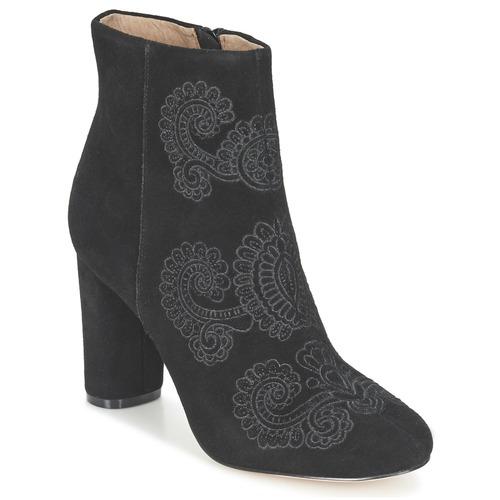 Chaussures Femme Bottines Bocage ELLIOT Noir