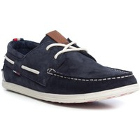 Chaussures Homme Chaussures bateau Tommy Hilfiger M2385ILES 1B Blue