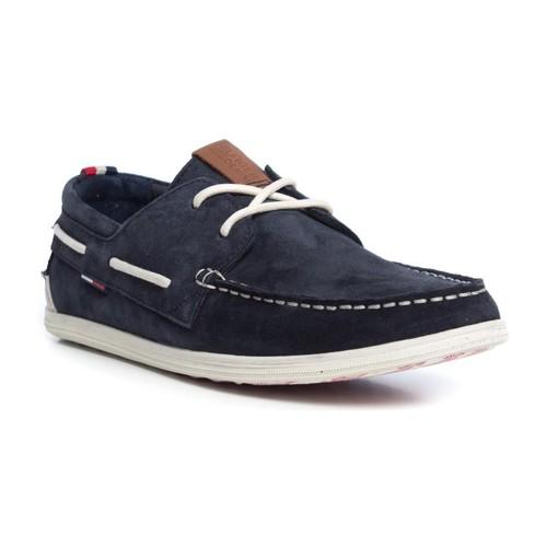 Chaussures Homme Chaussures bateau Tommy Hilfiger M2385ILES 1B Blue