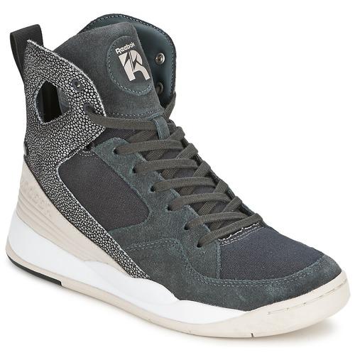 Chaussures Femme Baskets montantes Reebok Classic ALICIA KEYS COURT Gris / Blanc