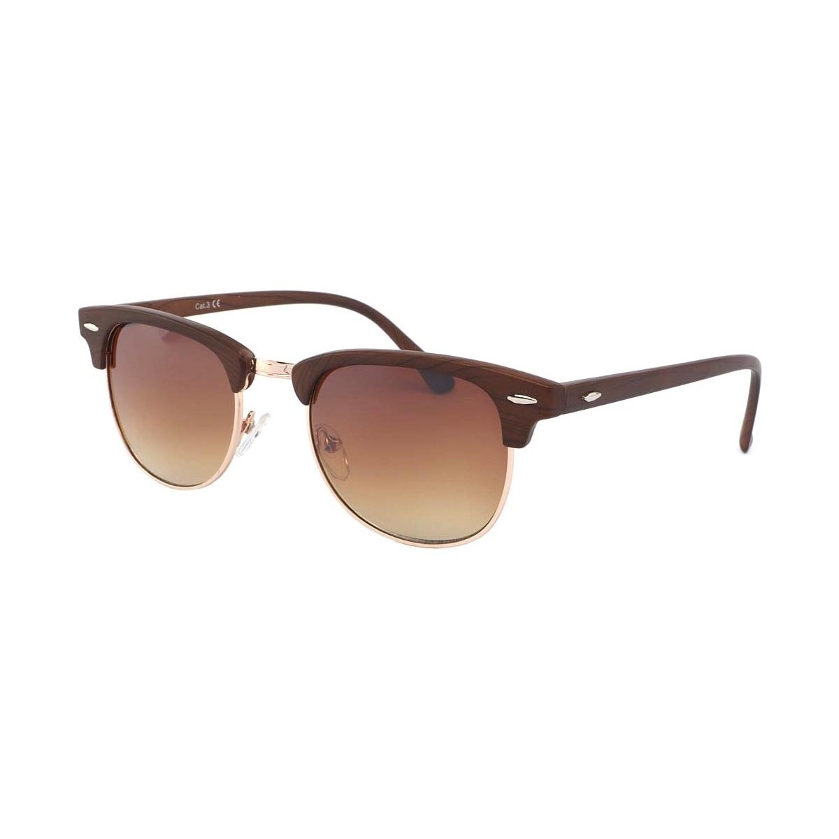 Eye Wear Lunettes de soleil Bois Marron Goeth Marron